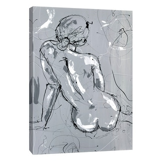 "PTM Images 9-105141  PTM Canvas Collection 10"" x 8"" - ""Nude Figure 4"" Giclee Women Art Print on Canvas"