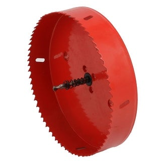 170mm Cutting Diameter Triangle Shank Spring Loaded Toothed Bi-Metal Hole Saw