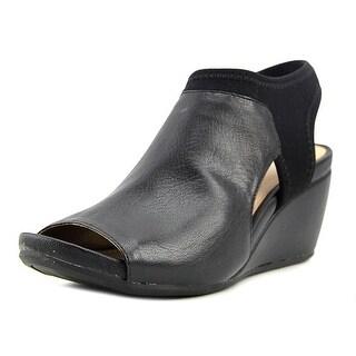 Naturalizer Cailla Open-Toe Leather Slingback Sandal (Option: 4.5)