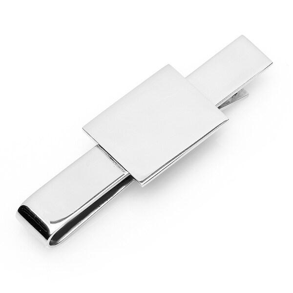 Stainless Steel Rectangular Infinity Tie Bar