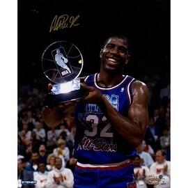 Magic Johnson Signed 1992 All-Star Game MVP 16x20 Photo () (LE/32)