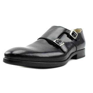 Kenneth Cole Reaction Lash Back Men  Round Toe Leather Black Loafer