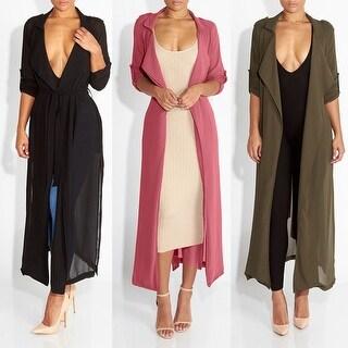 Summer Women Chiffon Sheer Long Cardigan Sun Protection Maxi Dress Jacket Coat