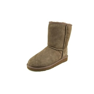 Ugg Australia Kids Classic Youth Round Toe Suede Brown Winter Boot