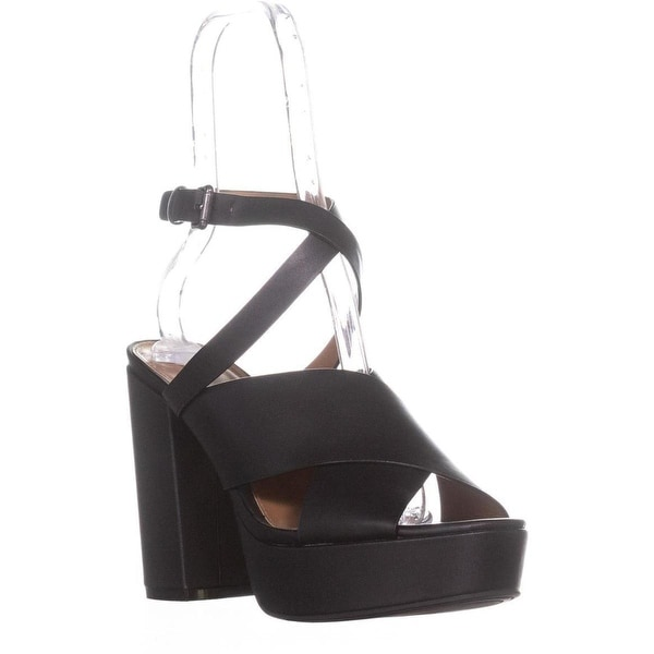 Indigo Rd. Eddie Platform Dress Sandal, Black - 9.5 us
