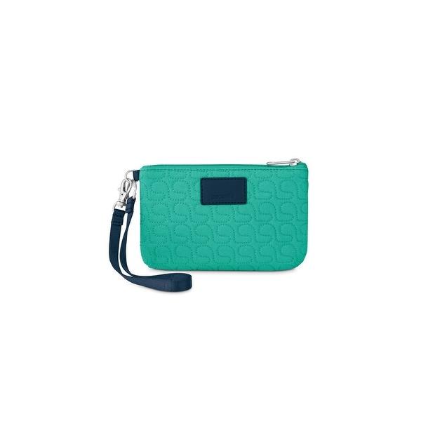 Pacsafe RFIDsafe W75-Lagoon RFID Blocking Pouch w/ Detachable Metal Chain
