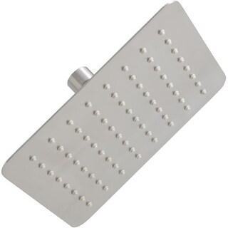 Mirabelle MIRRS825S 2.5 GPM Single Function Square Rain Shower Head