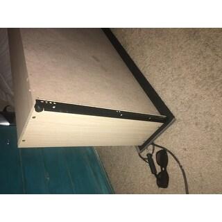 Shop Oliver Amp James Roth Grey Linen Wingback Storage Bed