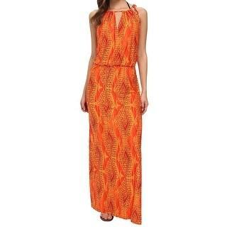 Vix NEW Orange Women's Size Large L Cover-Up Printed Swimwear