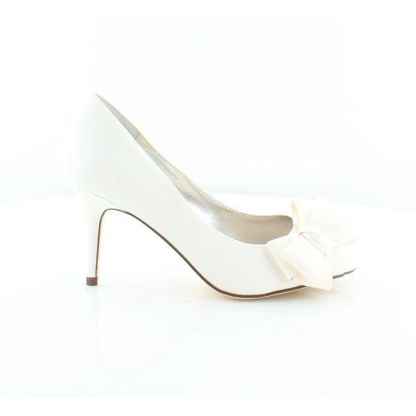 Nina Florice Women's Heels Ivory Luster