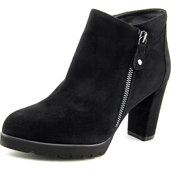 Firenze.Studio Sia Women Pointed Toe Suede Bootie