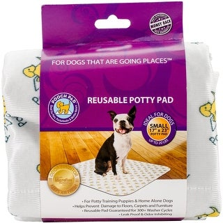 PoochPad 17-Inch by 23-Inch Pet Training Pad, Small