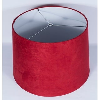 Link to Suede Hardback Lamp Shade, 12 inch Top, 14 inch Bottom, 10 inch Slant Similar Items in Lamp Shades