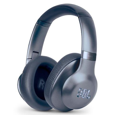 JBL Everest Elite 750NC On-Ear Wireless Bluetooth Headphones with Microphone - Steel Blue (Certified Refurbished)