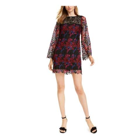 NANETTE LEPORE Black Long Sleeve Short Dress 6