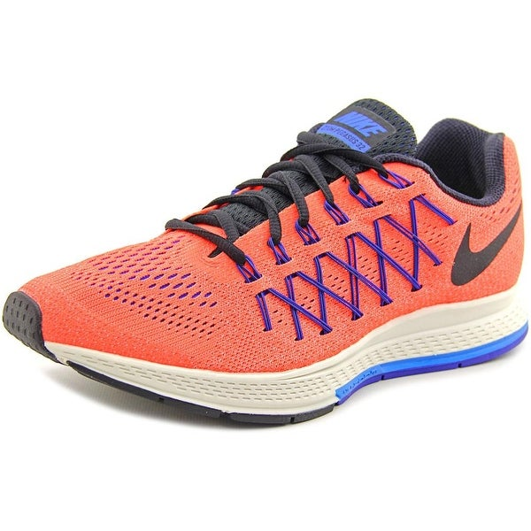 bc56b8a649cd Shop Nike Air Zoom Pegasus 32 Men Round Toe Synthetic Orange Running ...