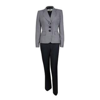 Le Suit Women's Cozumel Patterned Pant Suit|https://ak1.ostkcdn.com/images/products/is/images/direct/2906ab7890b23329bed0735839cad95a067accd5/Le-Suit-Women%27s-Cozumel-Patterned-Pant-Suit.jpg?impolicy=medium