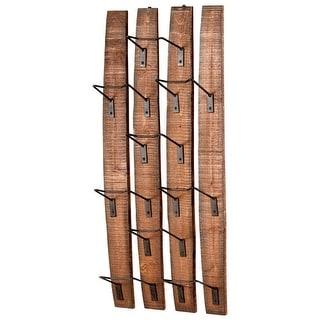 Cyan Design 4903 Large Fresno Wall Wine Holder - Rustic