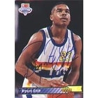 Bryant Stith Denver Nuggets 1993 Upper Deck Draft Choice Autographed Card Rookie Card This item comes with a certif