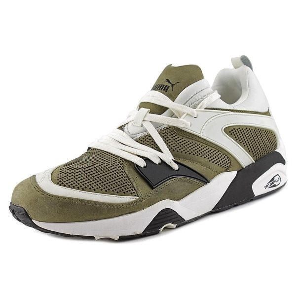 Puma Trinomic Blaze Tech Round Toe Leather Sneakers