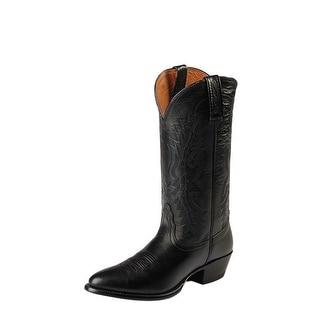 Nocona Western Boots Mens Cowboy Leather Imperial Calf Black NB2005
