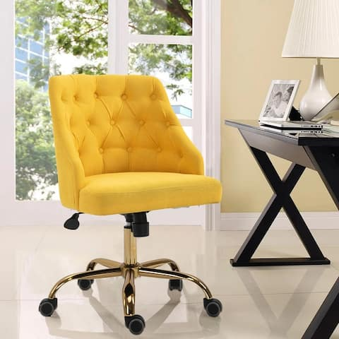Fabric Home Height-adjustable Office Chair