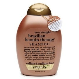 Organix Ever Straight Shampoo Brazilian Keratin Therapy 13 oz