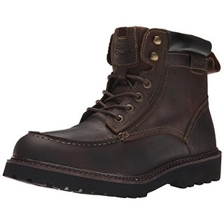 G.H. Bass & Co. Mens Errol Leather Moc Toe Oxford Boots