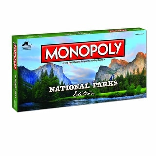Monopoly National Parks Edition Board Game - multi