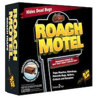 Black Flag HG-11020 Roach Motel, Hides Dead Bugs, 2-Pack