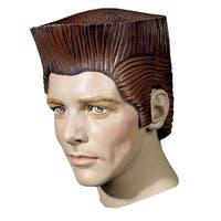 Crewcut Rubber Costume Wig - Brown