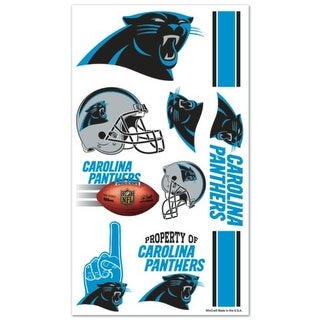 Carolina Panthers Temporary Tattoos