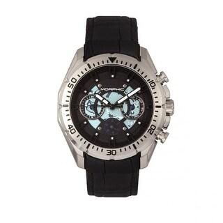 Morphic M66 Series Men's Quartz Multi-function Watch, Genuine Leather Band, Luminous Hands