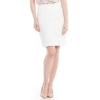 Kasper Petite Stretch Crepe Slim Skirt - 8P