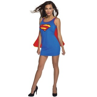 Rubies Supergirl Tank Dress Adult Costume - Blue (2 options available)