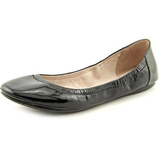 Vince Camuto Ellen Women Round Toe Patent Leather Black Ballet Flats