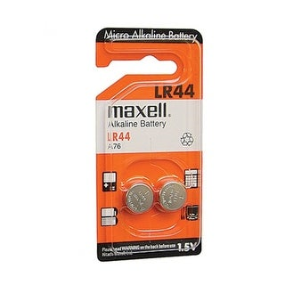 Maxell LR44 Batteries 2-Pack - ST