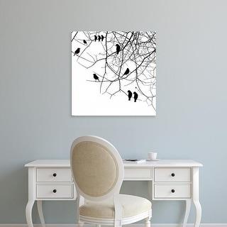 Easy Art Prints GraphINC's 'Bird II' Premium Canvas Art