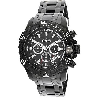 Invicta Men's Pro Diver 24858 Black Stainless-Steel Quartz Dress Watch