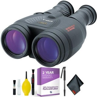 Canon18x50 IS Image Stabilized Binocular + Cleaning Kit + 2 Year Extended Warranty