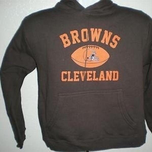 cleveland browns sweatshirts youth medium