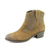 INC International Concepts Women's Distressed Ankle Boots