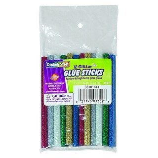 (6 Pk) 12Pk Hot Glitter Glue Sticks