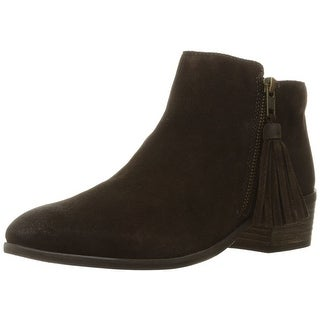 MIA Womens Emerson Suede Almond Toe Ankle Cold Weather Boots - 8