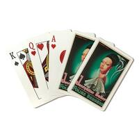 Josephine Baker Folie Bergere Gyarmathy Vintage Ad (Poker Playing Cards Deck)