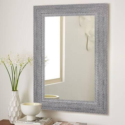 Boho Style Carving Vanity Mirror/Bathroom Mirror/ Accent Mirror
