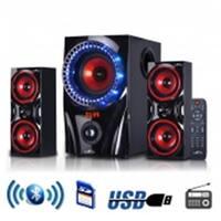 2.1 Channel Surround Sound Bluetooth Home Theater Speaker