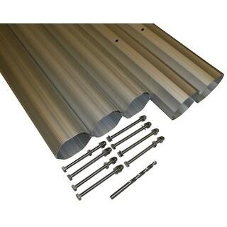 "HydroTools Hexagonal Aluminum Solar Cover Reel Tube Kit - 3"" x 24'"