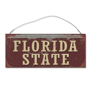 Florida State University Seminoles Small Tin Sign