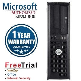 Refurbished Dell OptiPlex 780 Desktop Intel Core 2 Quad Q8200 2.33G 8G DDR2 500G DVDRW Win 10 Pro 1 Year Warranty
